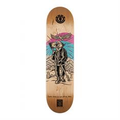 element Explorer skateboard ecru