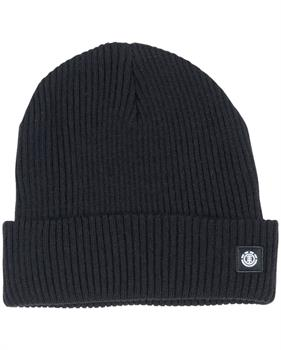element Flow2 Beanie Muts skate/snow ZWART