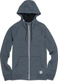 Element Meridian Bonded Zip heren sweater marine