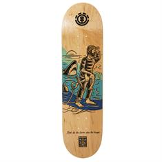 element Voyager skateboard ecru