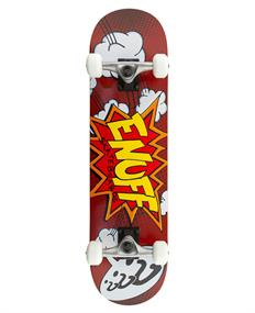 Enuff Pow Red 7.75 skateboard complete rood