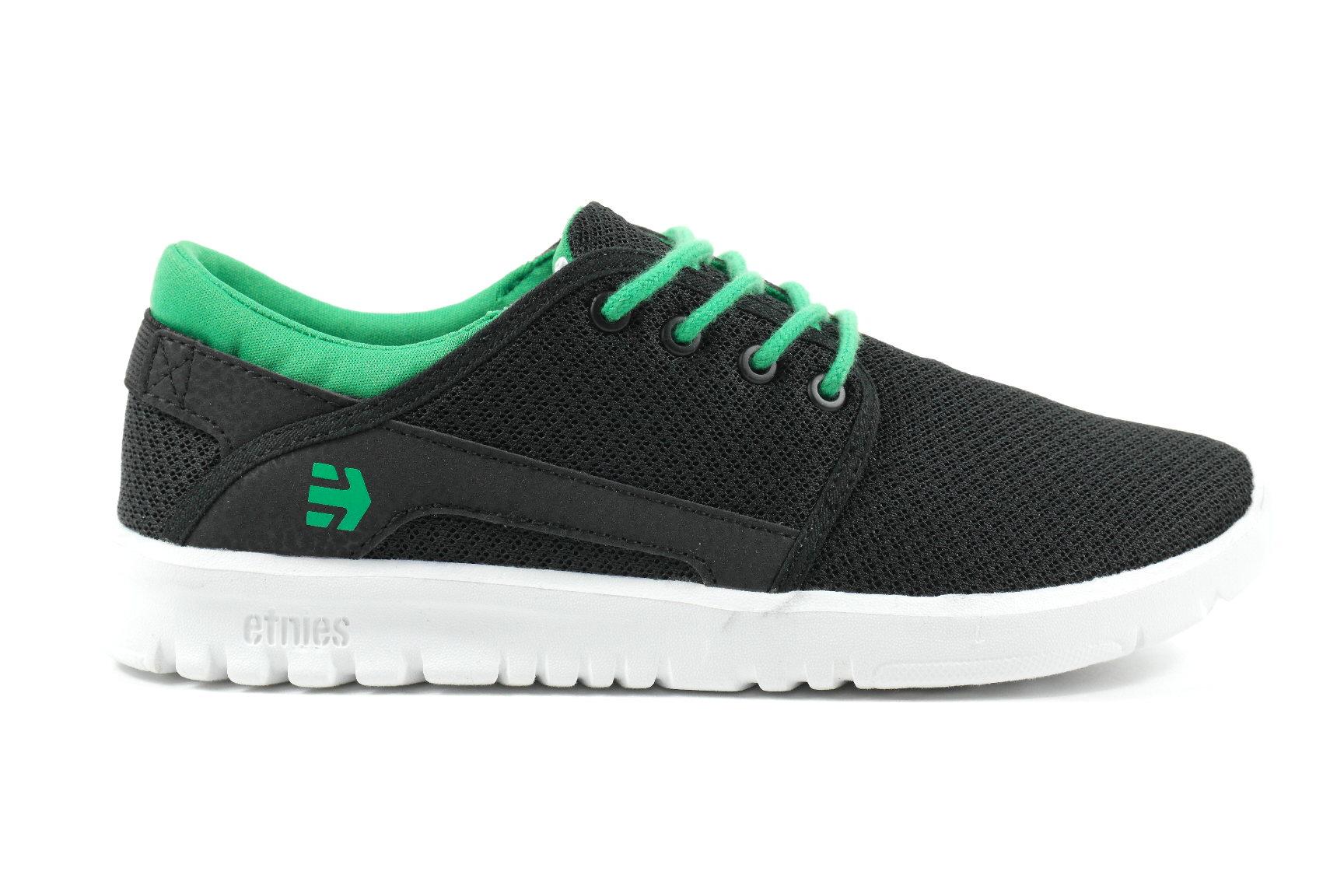 Afbeelding van Etnies Marana Black Green Jongens sneakers ZWART