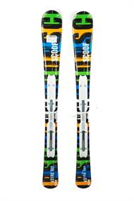 Euretco Sport allmountain junior ski zwart