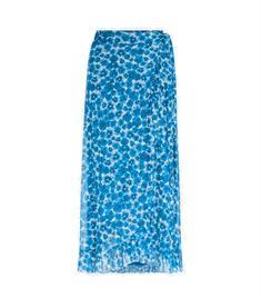 Fabienne Chapot Bobo Frill Skirt dames casual rok kobalt