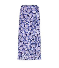 Fabienne Chapot Bobo Frill Skirt dames casual rok lila