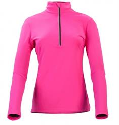 Falcon 2e halve prijs Flashlight dames ski pulli met rits pink