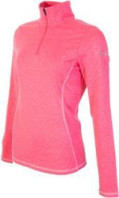 Falcon 2e halve prijs Yantil Pink dames ski pulli met rits pink