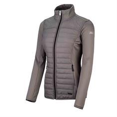 Falcon Cypress Poly dames sportsweater midden grijs