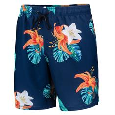 Falcon Dray Flower Power heren beach short marine