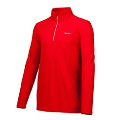 Falcon Haller junior ski pulli met rits rood