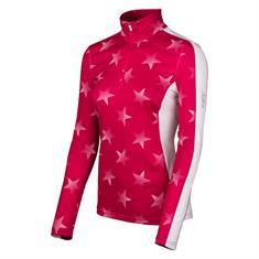 Falcon Obiou dames ski pulli met rits pink