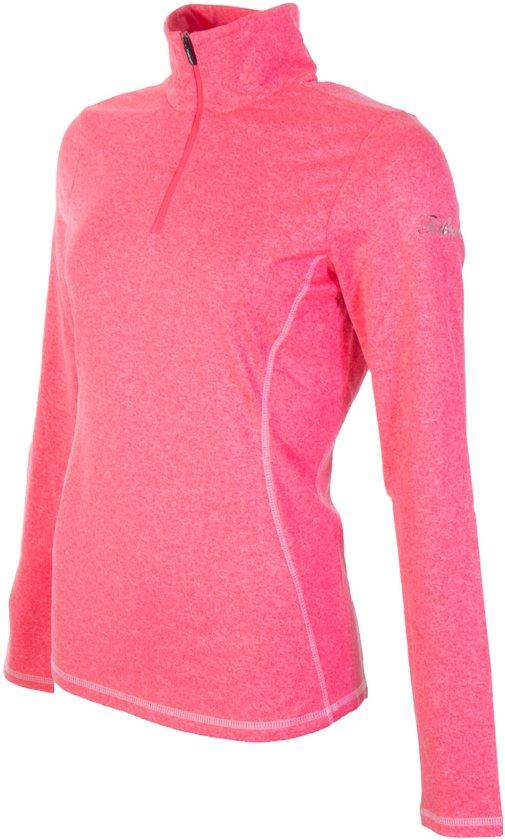 Falcon Yantil Pink dames ski pulli met rits pink