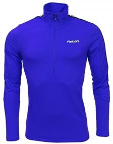 Falcon Yarmouth blue heren ski pulli kobalt