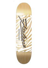 Falus ZEBRA 7.75 skateboard deck lichtbruin