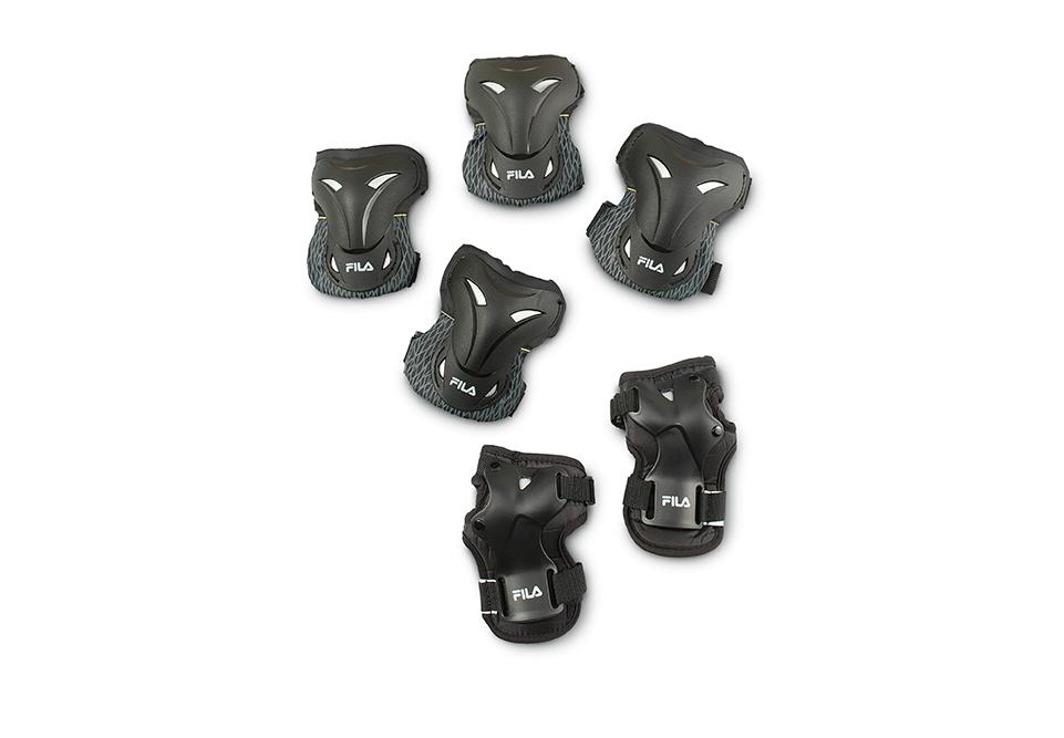 c12df75bc51 Fila 3 Pack beschermset zwart van bescherming