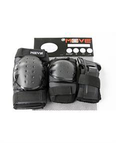 Fila 3 pack fitness beschermset zwart