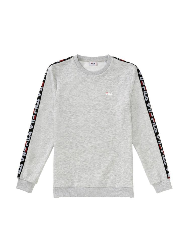 3aecd2d493e Fila Aren Crew heren sportsweater midden grijs van sweaters