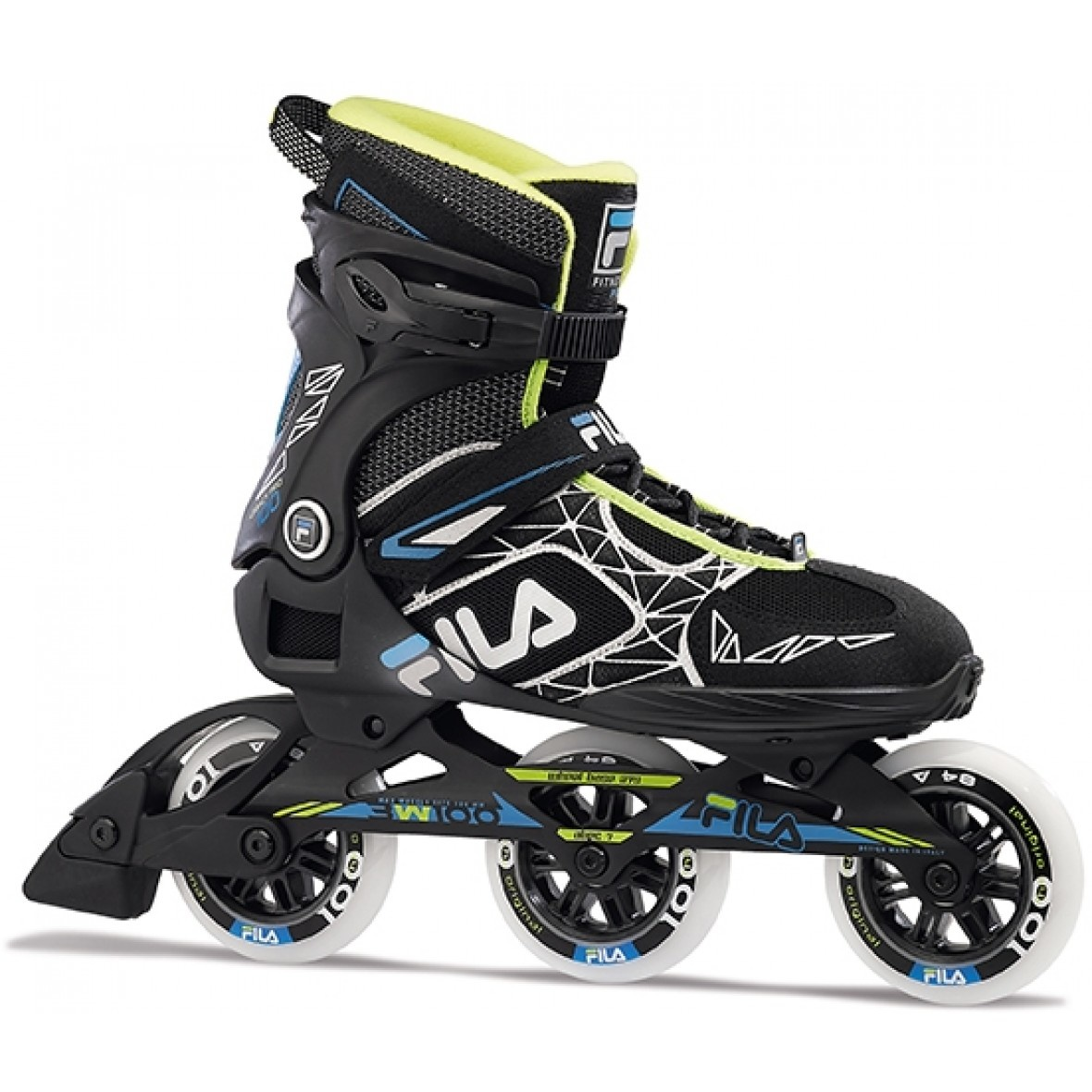 7ff61eb2373 Fila Legacy Pro 100 inline skates / skeelers zwart van inlineskates