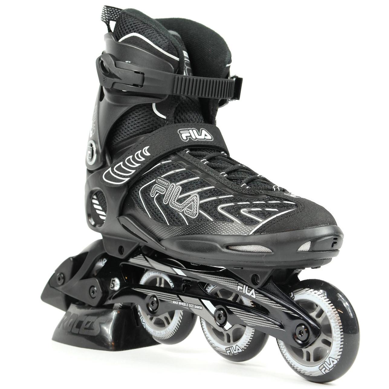 9cef32e35fd Fila Primo Alu inline skates / skeelers zwart van inlineskates