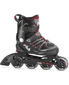 Fila skate X-One Black Red inline skates / skeelers zwart