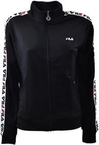 Fila Talli Track jacket dames sweater zwart