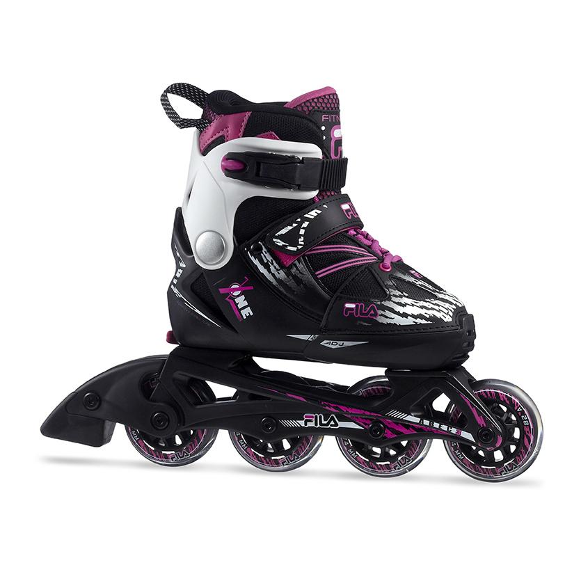 6ea5859f90b Fila X-One Girl inline skates / skeelers zwart van inlineskates