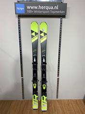 Fischer 126-2930 Xtr Race kinder ski gebruikt geel