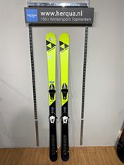 Fischer 128-2955 Stunner kinder ski gebruikt geel
