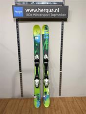 Fischer 135-2932 Stunner kinder ski gebruikt groen