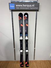 Fischer 138-2812 F18 heren ski gebruikt oranje