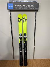 Fischer 140-2937 Stunner kinder ski gebruikt geel