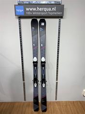 Fischer 153-2917 Aspire dames ski gebruikt zwart