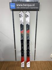 Fischer 45-2822 XTR Comp heren ski gebruikt rood