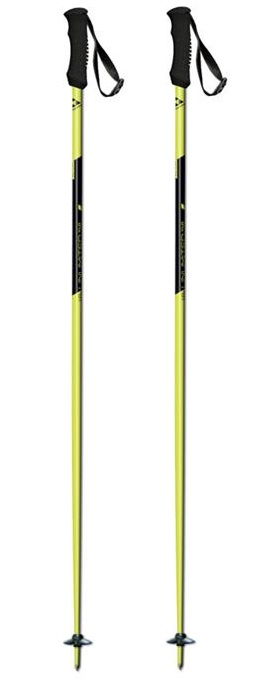 Fischer Unlimited Yellow skistokken geel