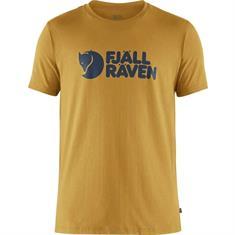 Fjall Raven Fjall Raven Logo Tee heren shirt geel