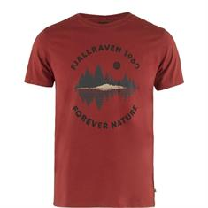 Fjall Raven Forest Mirror heren shirt steenrood