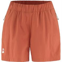 Fjall Raven High Coast Relaxed dames wandelshort rood
