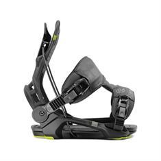 Flow Fenix Black snowboard bindingen zwart