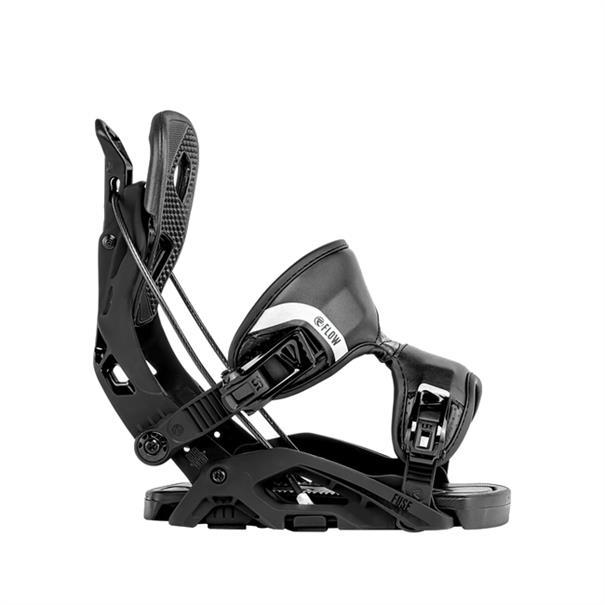 Flow Fuse snowboard bindingen zwart