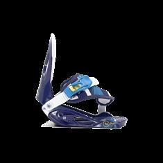 Flow Magic Blue snowboard bindingen blauw