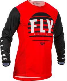 Fly Racer Factory LS Jersey bmx shirt rood