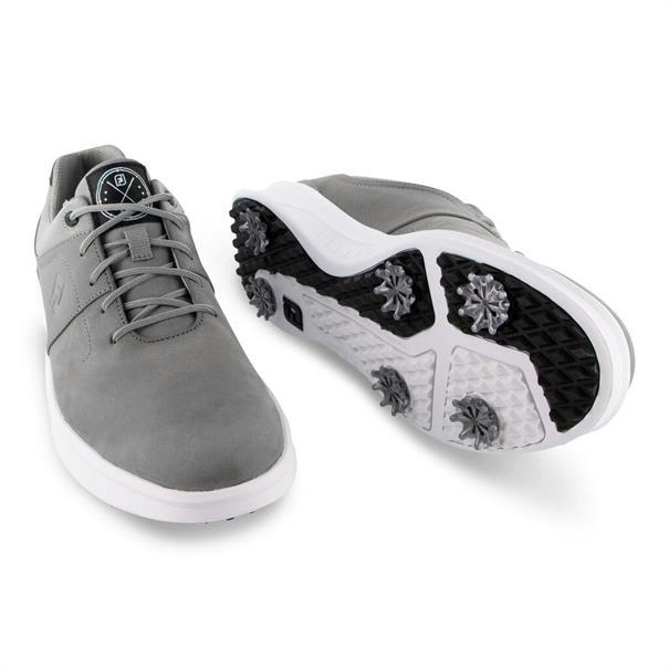 Footjoy 54129 heren golf schoenen midden grijs