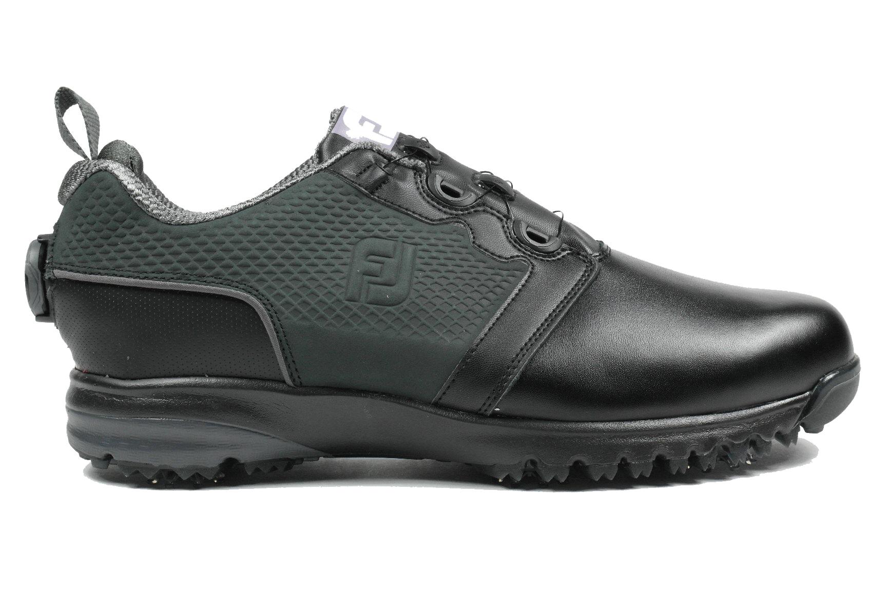 9a272a77bbc Footjoy Contour black heren golf schoenen zwart van golfschoenen
