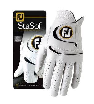 Footjoy Stasof Links Golfhandschoenen WIT