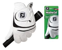 Footjoy Weathersof Links golfhandschoenen wit