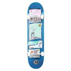 Foundation Hey Squirrel skateboard complete denim