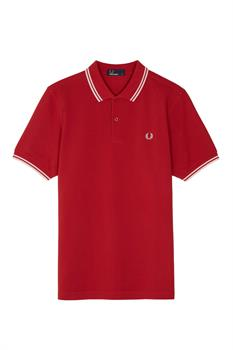 Fred Perry Fred Perry Polo Heren polo steenrood