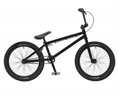 Free Agent Lumen Black bmx fiets zwart