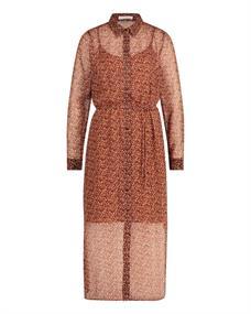 Freebird HARPER dames jurk casual bruin dessin