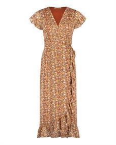 Freebird Rosy Midi dames jurk casual oranje